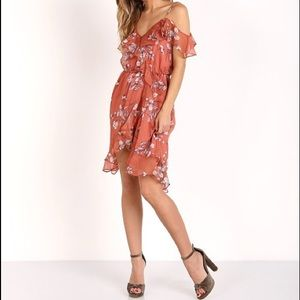 The Jetset Diaries Oasis Floral Mini Dress